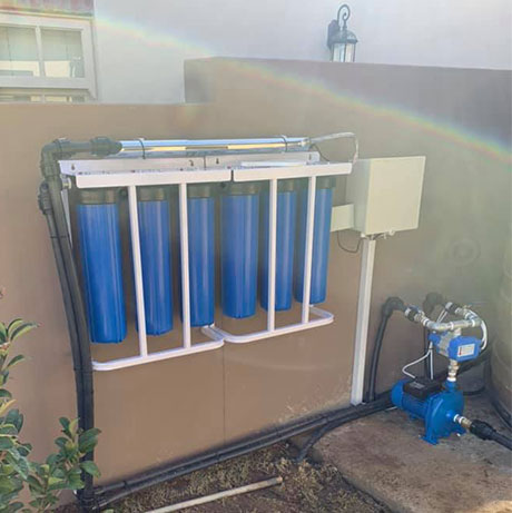 borehole water treatment systems installed